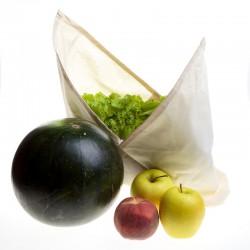 Bolsa de algodón orgánico estilo Azuma Bukuro