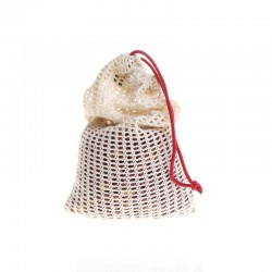 Mesh Reusable produce organic cotton bag