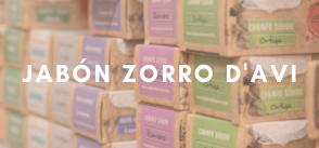 Jabón Zorro D'Avi